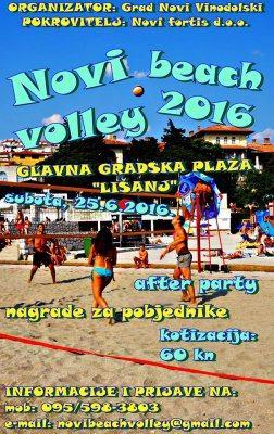 Novi beach volley 2016