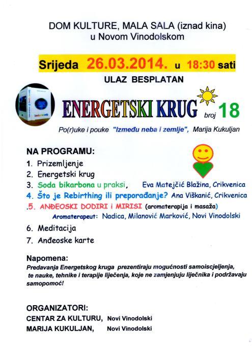 Energetski krug br. 18.