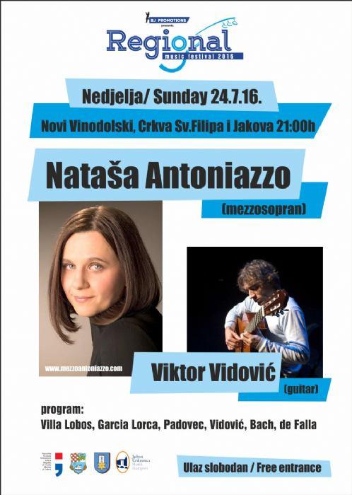 Koncert Nataša Antoniazzo & Viktor Vidović