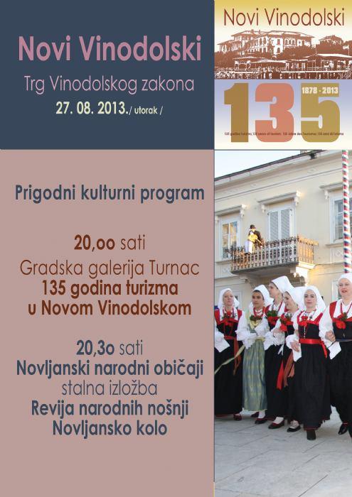 Prigodan kulturni program - muzej, čitaonica, Srićina kuća, GG Turnac