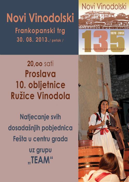 Ružica Vinodola - proslava 10. godišnjice Ružice Vinodola