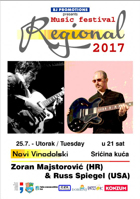 REGIONAL 2017.  - Gitaristički duo Z. Majstorović i R. Spiegel