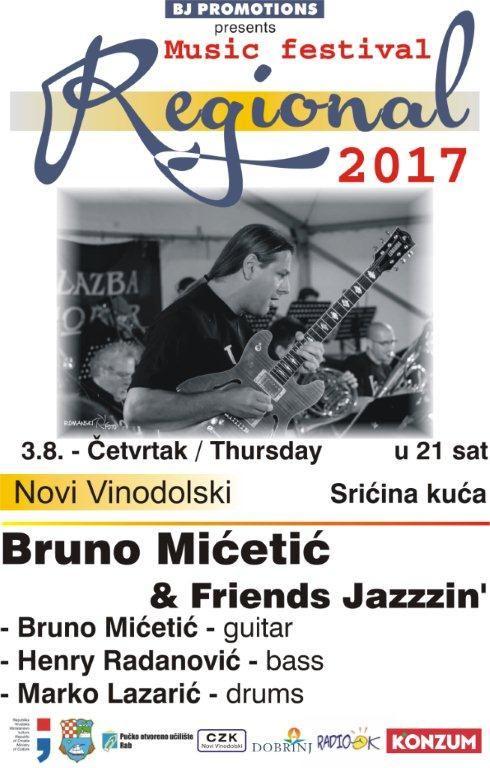 REGIONAL 2017.  - Bruno Mićetić & friends
