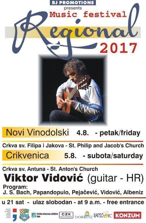 REGIONAL 2017.  - Viktor Vidović (gitara)