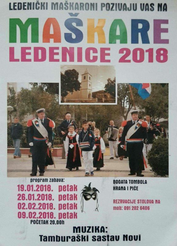 Maškare - Ledenice 2018.