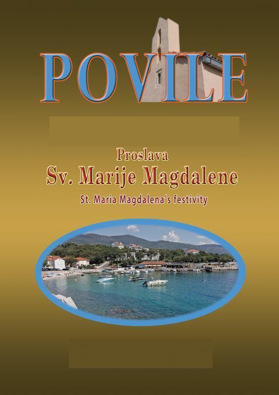 Oslava sv. Máří Magdaleny - Povile