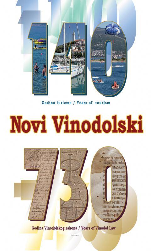 Logo - 140 godina turizma u Novom Vinodolskom