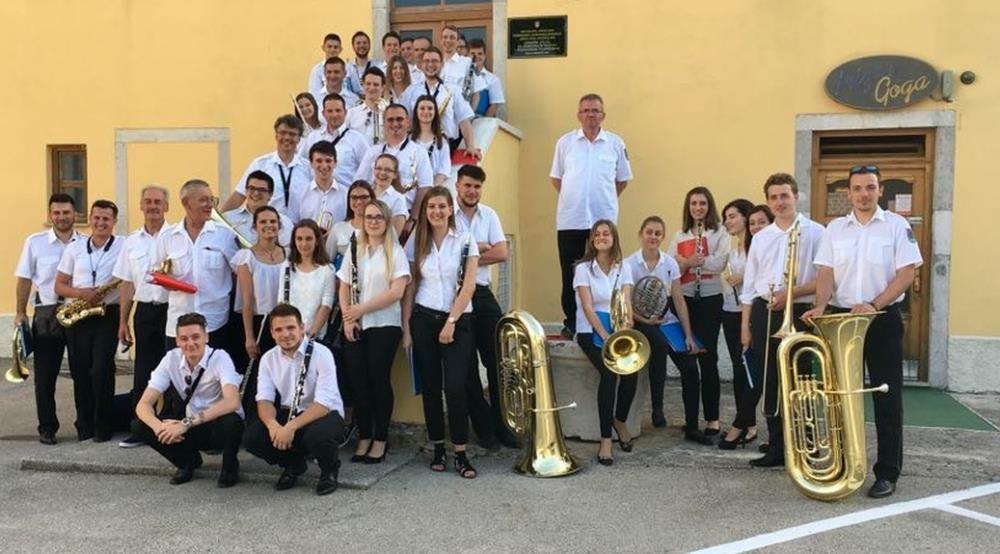 Koncert puhačkog orkestra DVD-a Kašina