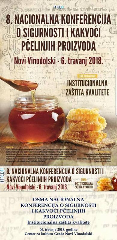 8. Nacionalna Konferencija o sigurnosti i kakvoći pčelinjih proizvoda