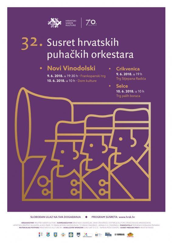 32. Susret puhačkih orkestara Hrvatske - Dom kulture