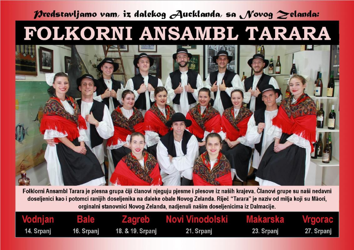 Performance of folklore ensemble Tarara
