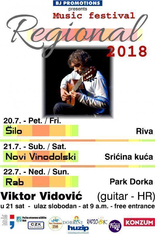 Regional 2018. - Viktor Vidović