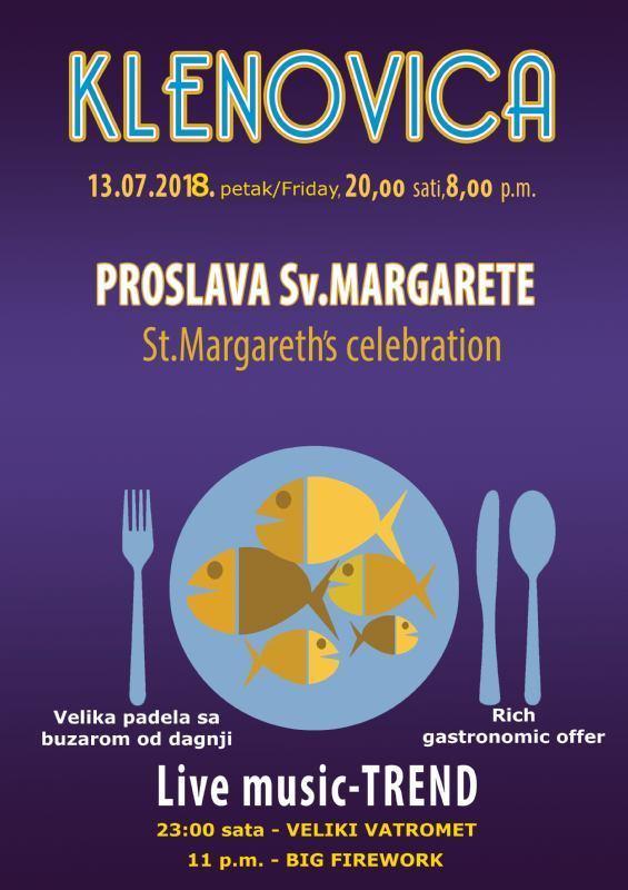 Proslava Sv. Margarete - Klenovica