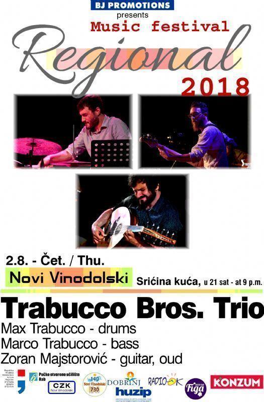 Regional 2018 - Trabucco Bros.Trio