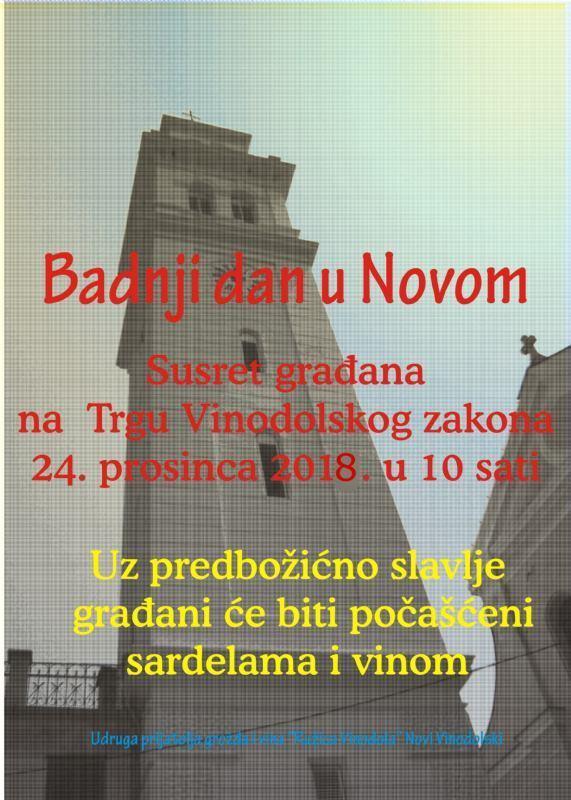 Badnji dan u Novom