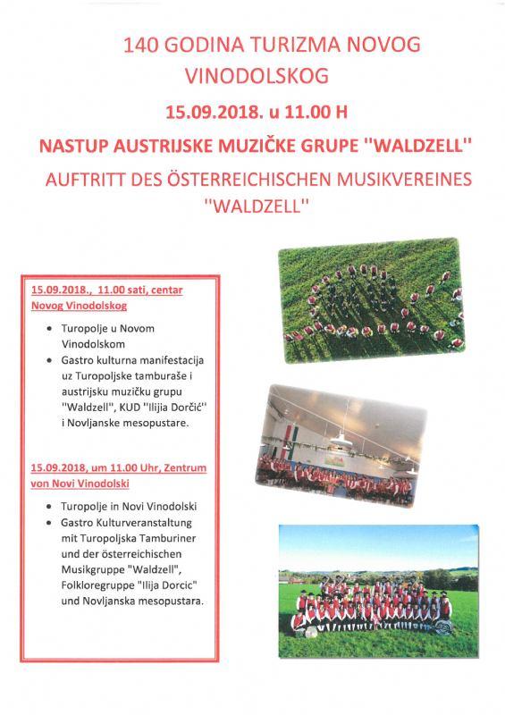 Nastup austrijske muzičke grupe ''WALDZELL''