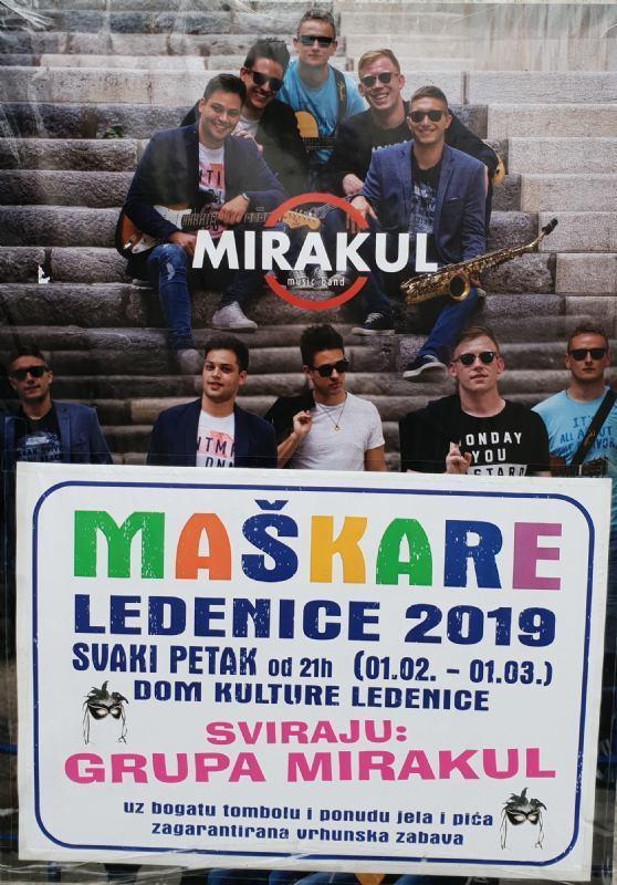 Maškare - Ledenice 2019.