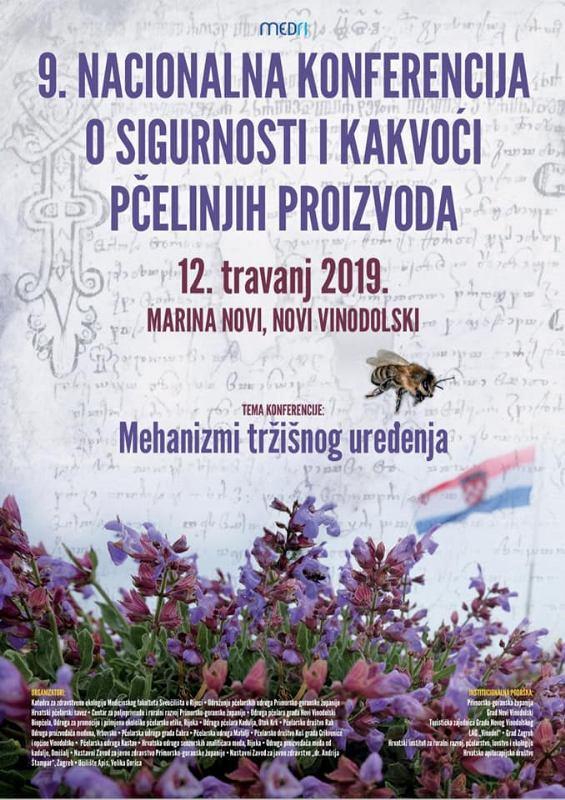 9. Nacionalna konferencija o sigurnosti i kakvoći pčelinjih proizvoda
