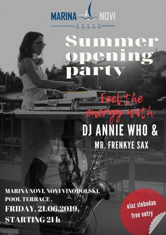 Summer opening party