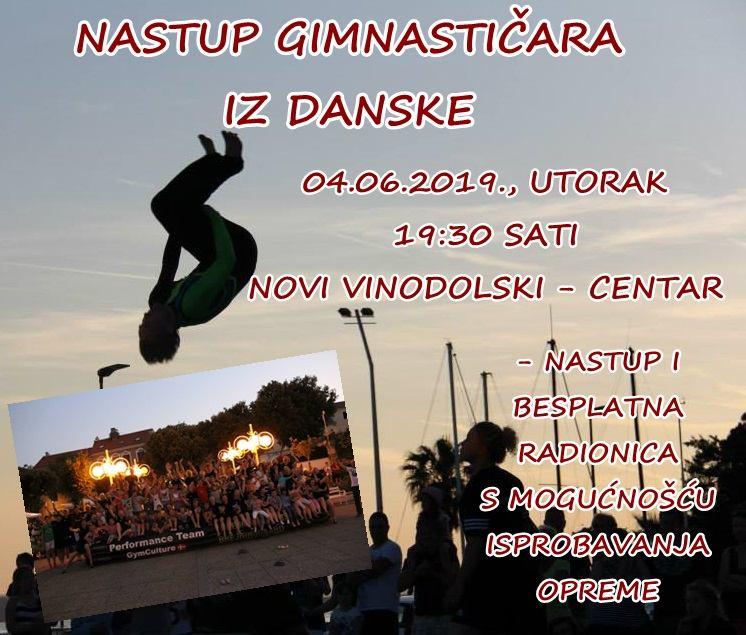 Nastup gimnastičara iz Danske