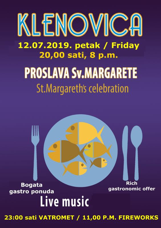 St. Margareth's celebration - Klenovica