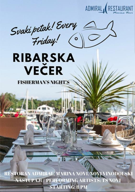 RIBARSKA VEČER@restoran Admiral