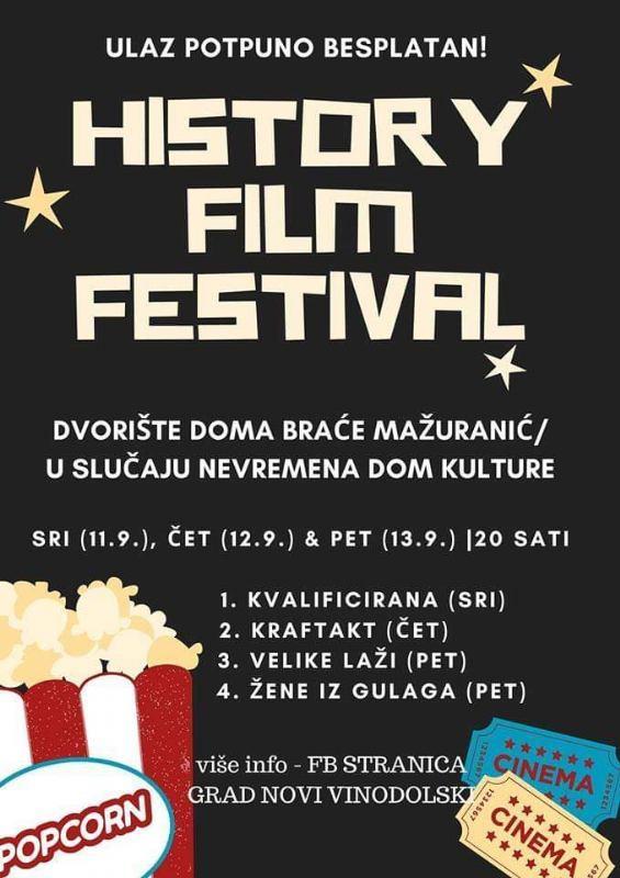 HISTORY FILM  FESTIVAL  2019.