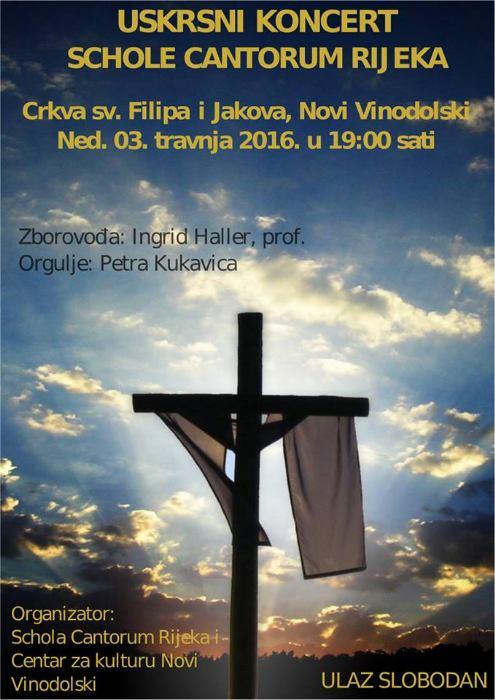 Uskrsni koncert Schole Cantorum Rijeka