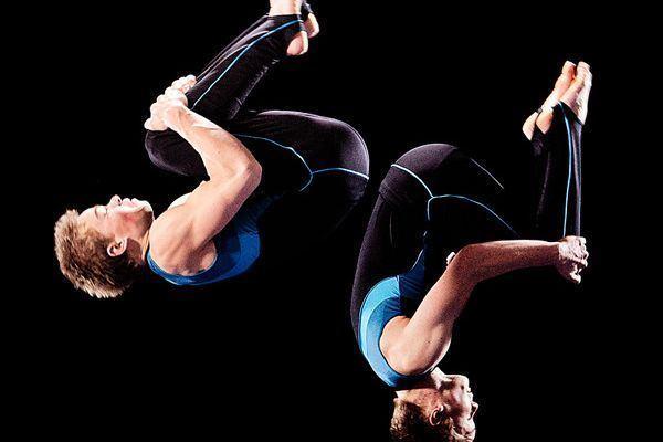 Spettacolo di ginnastica