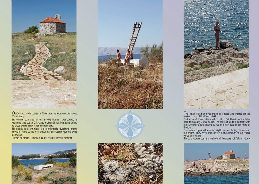 Die kleine Insel San Marino – eine Oase der Ruhe in der Nähe des Festlandes