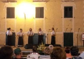 A capella singing concert