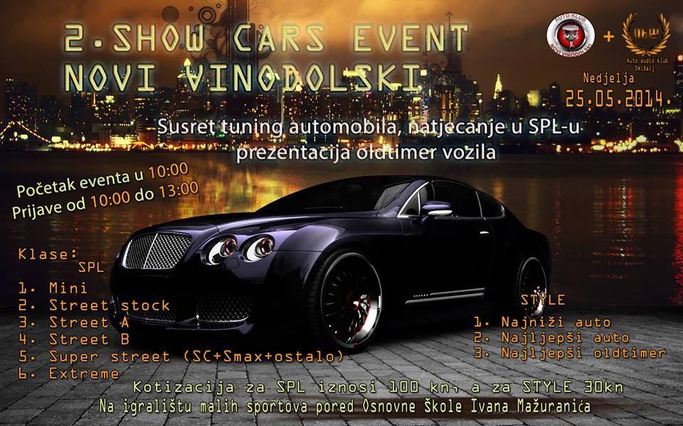 2. SHOW CARS event - igralište malih sportova