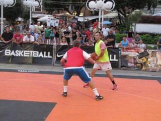 Basket tour 2015 - Trg Ivana Mažuranića