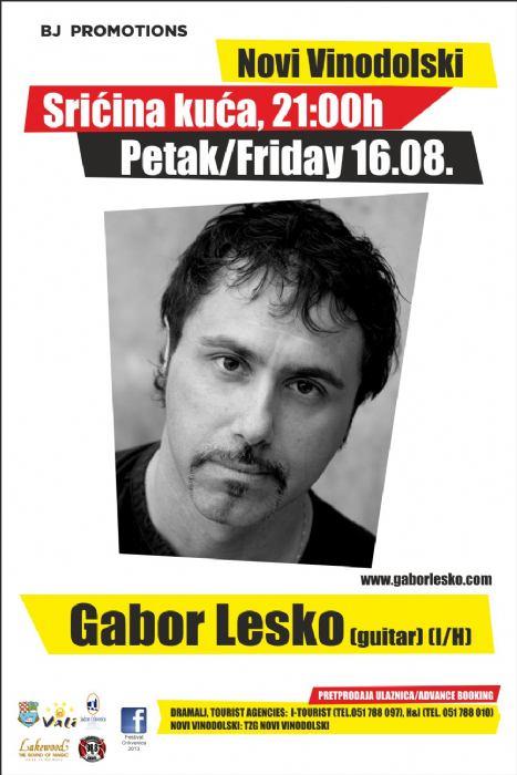 Gabor Lesko - koncert
