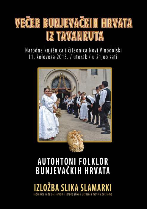 Večer bunjevačkih Hrvata iz Tavankuta