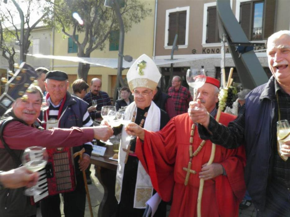 St. Martin's wine celebration