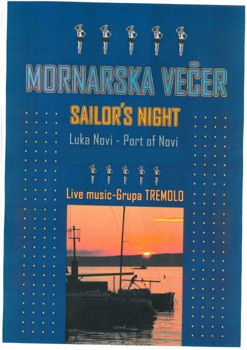 Mornarska večer - luka