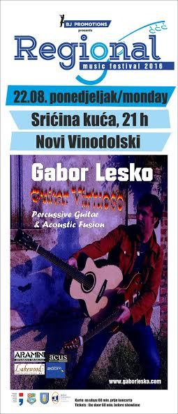 Koncert - Gabor Lesko