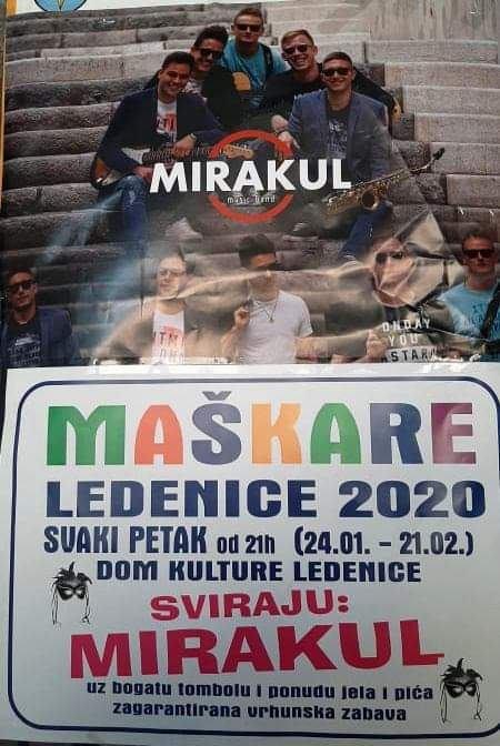 Maškare - Ledenice 2020.