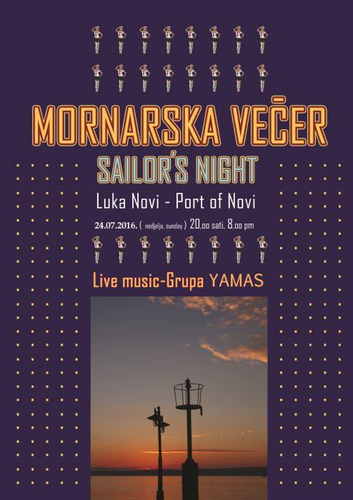 Mornarska večer - riva