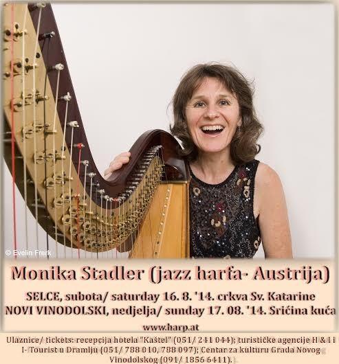 Novi music festival - Monika Stadler - jazz harp