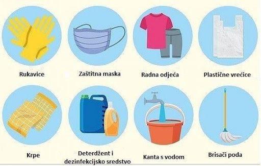 Preporuke HZJZ za čišćenje i rad smještajnih objekata i turističkih agencija
