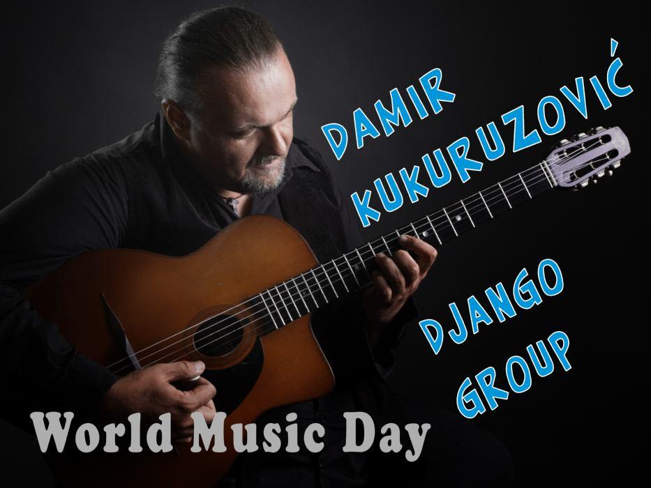 Damir Kukuruzović Django group - koncert