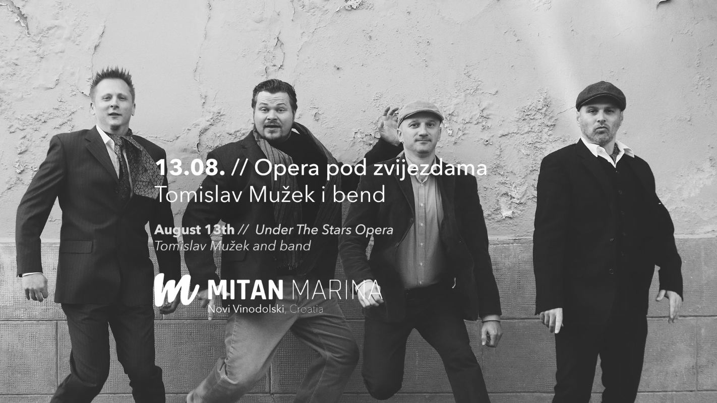 Under The Stars Opera - Tomislav Mužek and band
