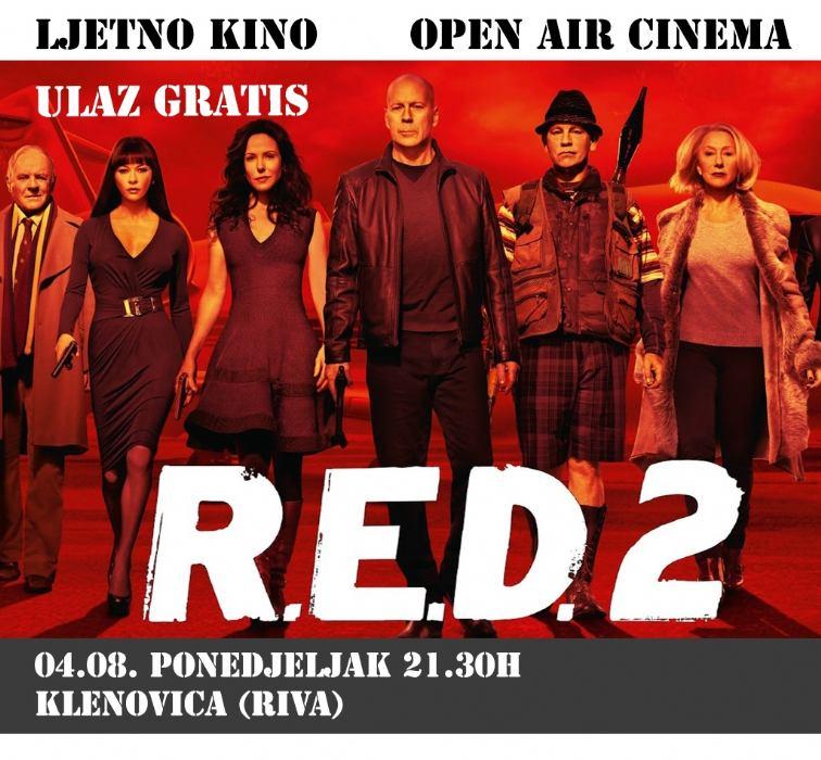 Open air cinema - Klenovica riva