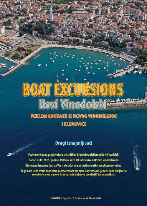 Promotivna vožnja brodovima Vinodolskom rivijerom