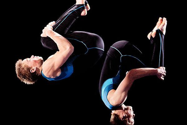 Nastup gimnastičara iz Danske - centar