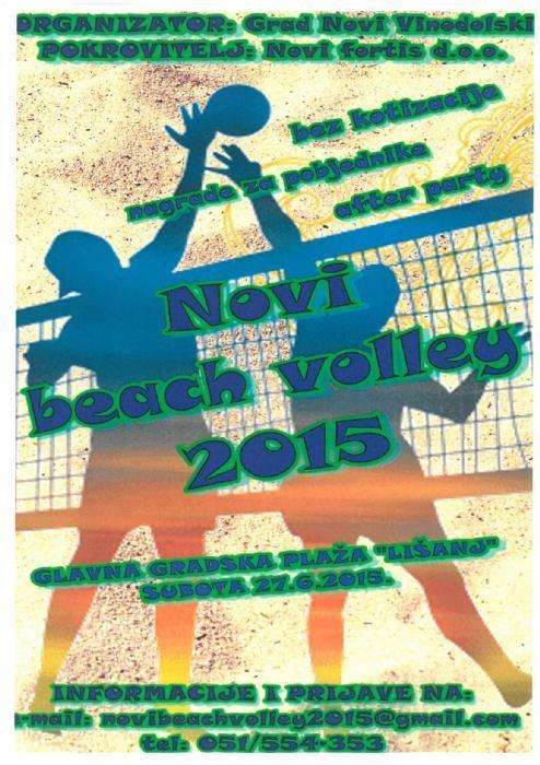 Novi beach volley 2015